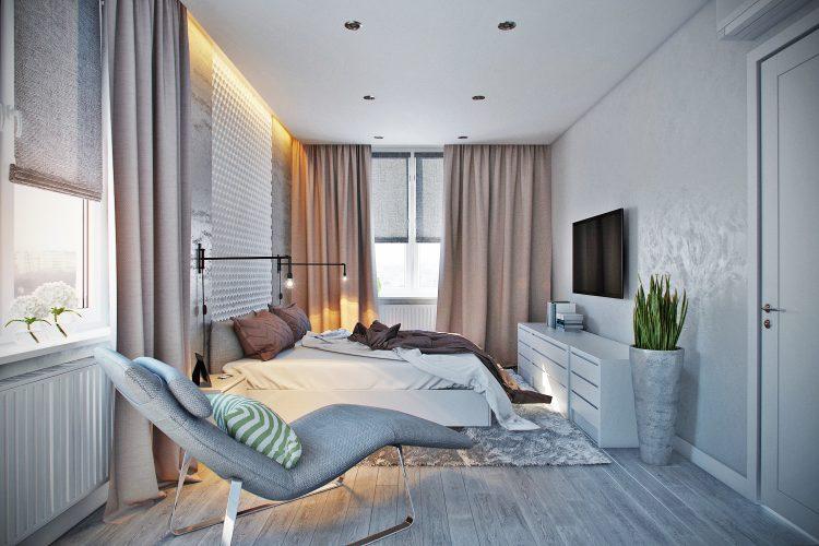 (RU) Спальня для молодой семьи