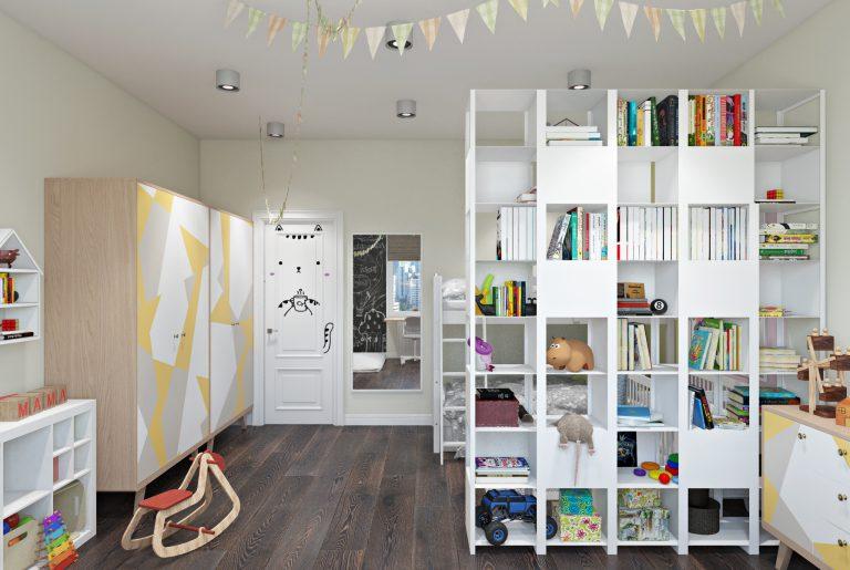 Детская комната для двух детей View02