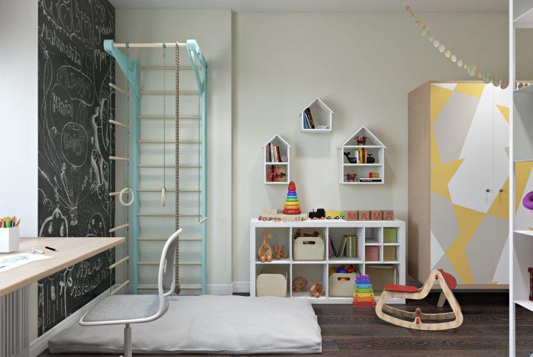 Детская комната для двух детей View06