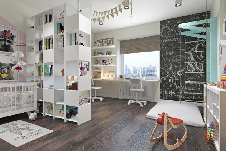 Детская комната для двух детей View07