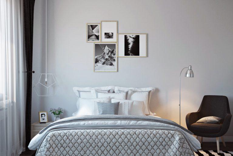 Спальня в скандинавском стиле View03