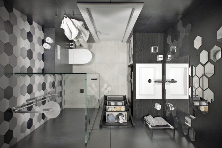 Ванная в стиле лофт Loft style bathroom