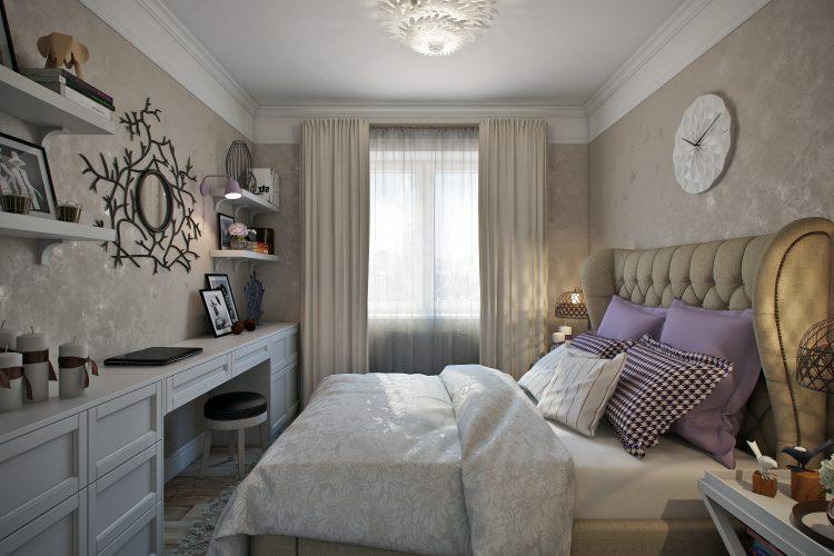 (RU) Спальня в Москве