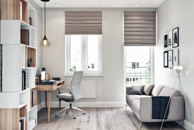 Кабинет в современном стиле cabinet 01
