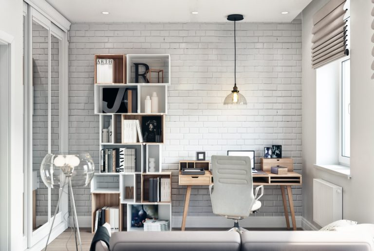 Кабинет в современном стиле cabinet 02