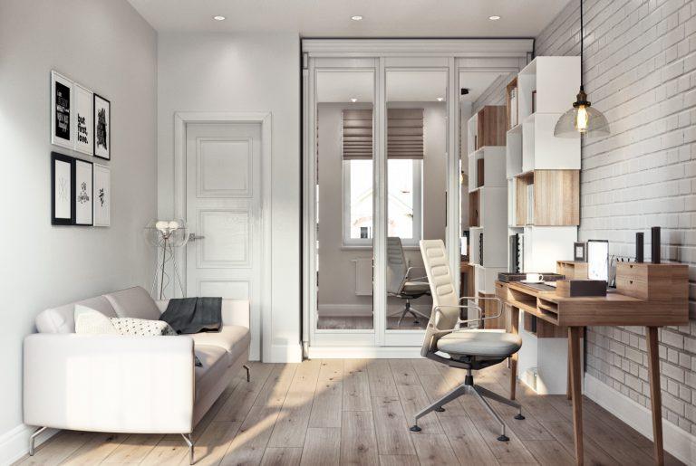 Кабинет в современном стиле cabinet 03