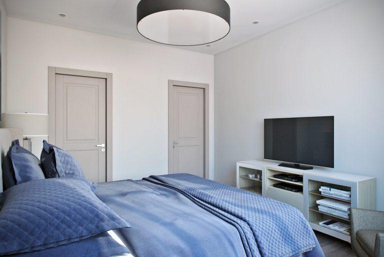 Спальня в современном стиле Bedroom View11