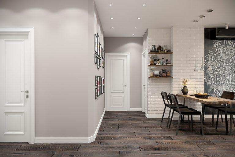 коридор гостиная Livingroom (4) эклектика