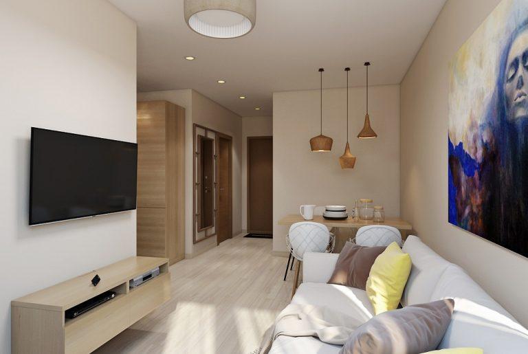 Гостиная студия Studio View02 современный стиль