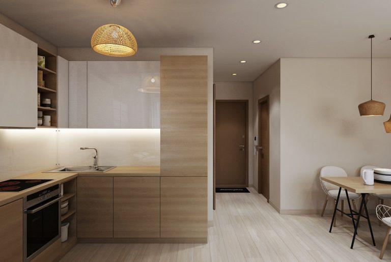Кухня студия Studio View05 современный стиль