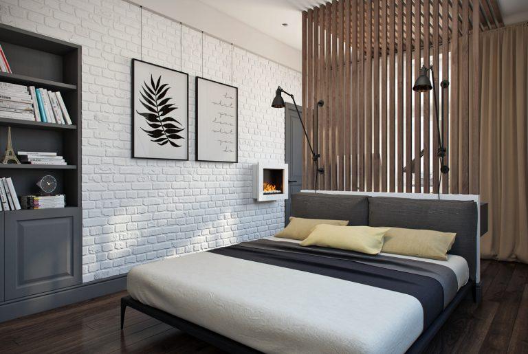 Спальня Bedroom View03 современный стиль