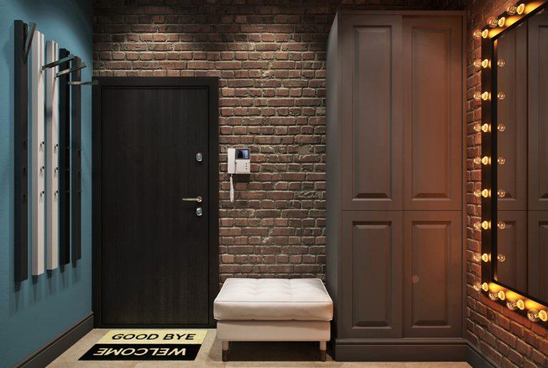 loft лофт прихожая