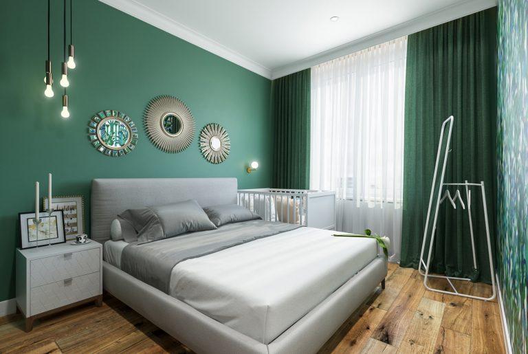 Спальня (1) эклектика