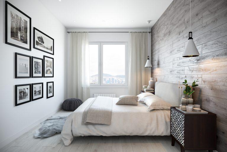 Спальня (4) скандинавский стиль