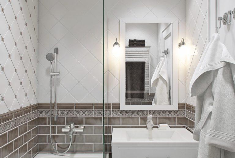 Ванная в стиле ар-деко Art Deco Bathroom
