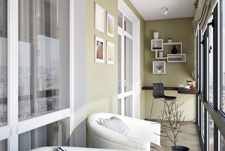 Балкон в современном стиле View20