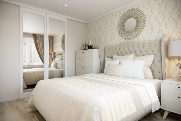 Спальня-Bedroom (3) в стиле эклектика в санкт-петербурге