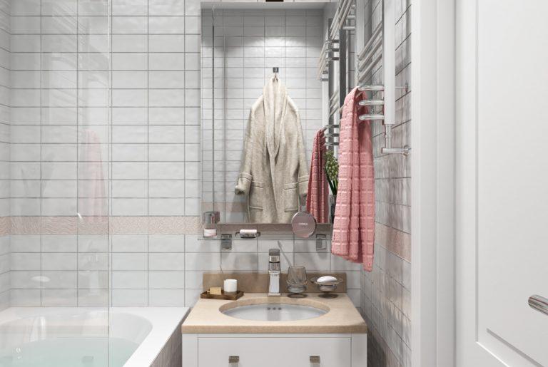 Ванная-Bathroom (5) в стиле эклектика в санкт-петербурге