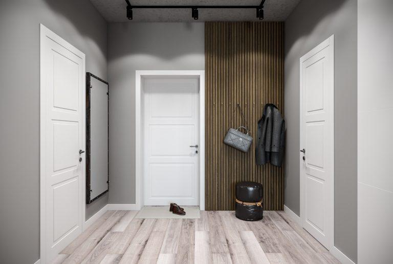 прихожая-Hallway1 в стиле лофт