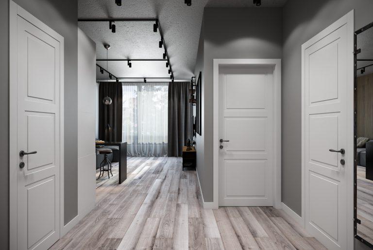 прихожая-Hallway2 в стиле лофт