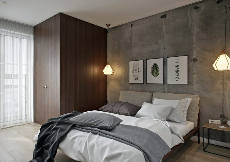 The apartment of 74 sq.m. in a modern style
