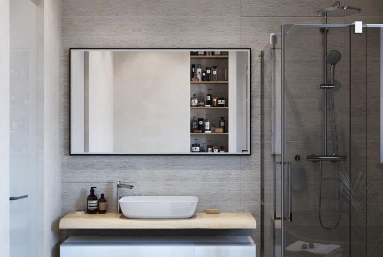 ванная с душевым уголком