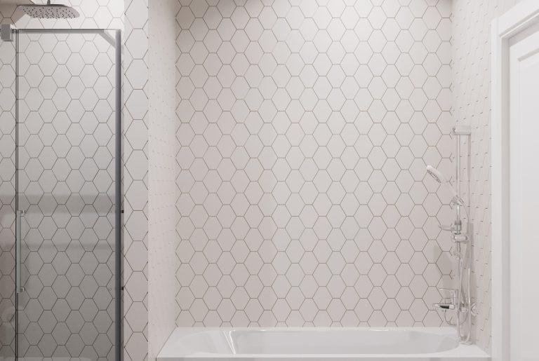 ванна и душевая в санузле