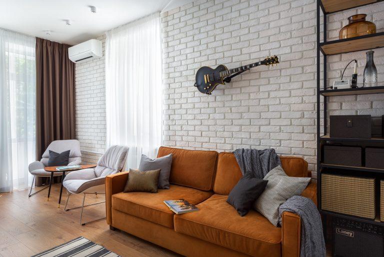 Реализованный проект квартиры 42 кв.м. в старом доме у метро Белорусская