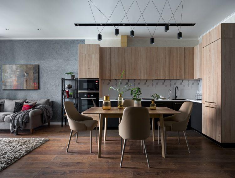 (RU) Реализованный проект квартиры 73 кв.м. в ЖК Квартал 38А