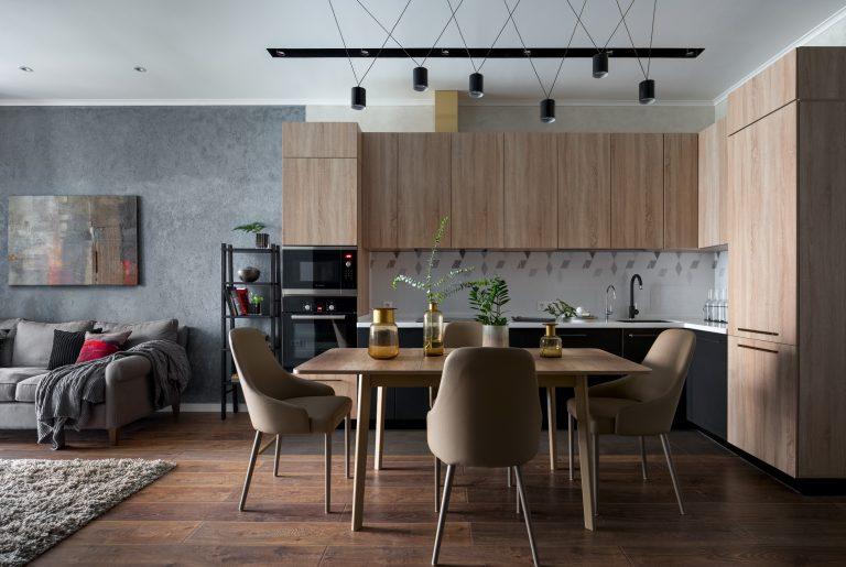 Реализованный проект квартиры 73 кв.м. в ЖК Квартал 38А