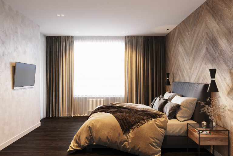 текстиль в спальне