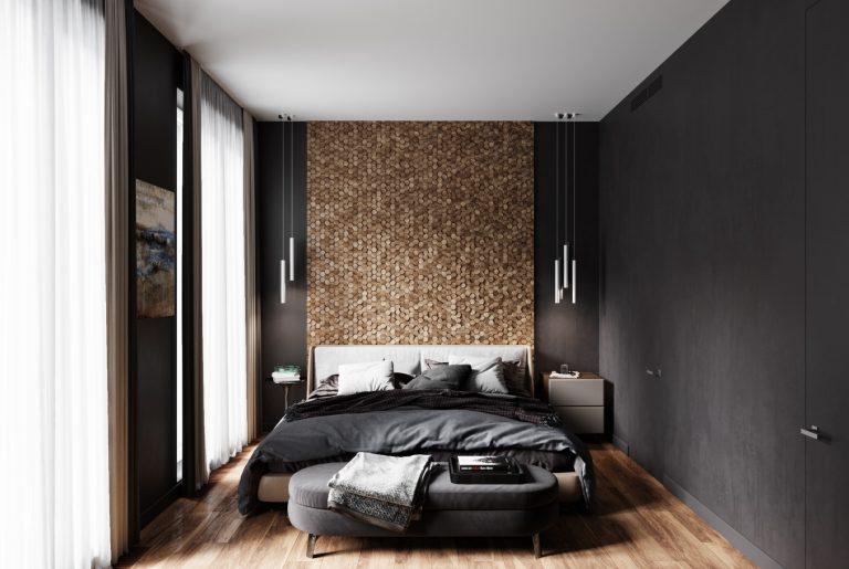 панели у изголовья кровати