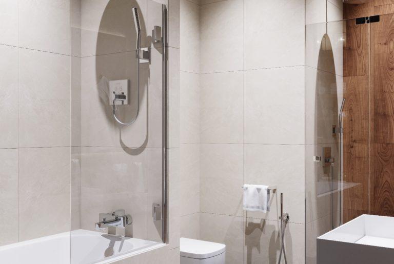совмещенная мастер-ванная