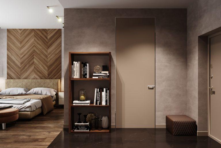 гардероб в гостевой спальни