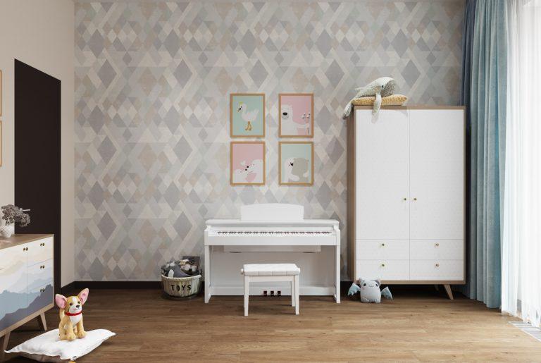 пианино в детской