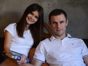 Дарья Ельникова и Александр Ельников