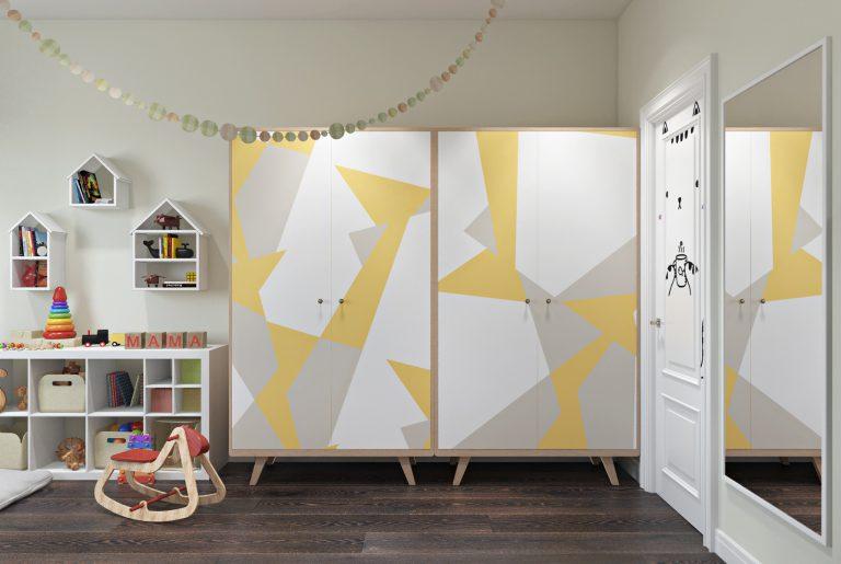 Детская комната для двух детей View05