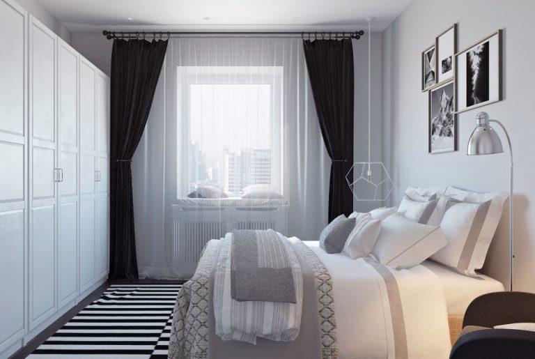 Спальня в скандинавском стиле View01