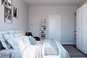 Спальня в скандинавском стиле View02