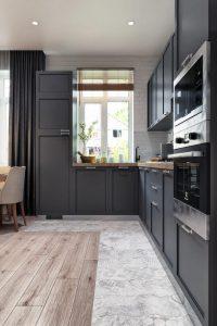 Кухня гостиная Living room 4 в неоклассическом стиле