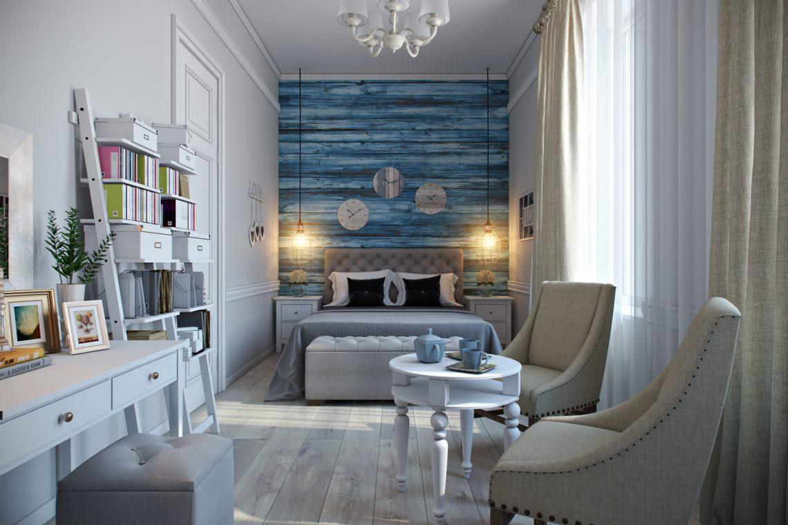 Дизайн спальни для семейной пары: проект в Санкт-Петербурге