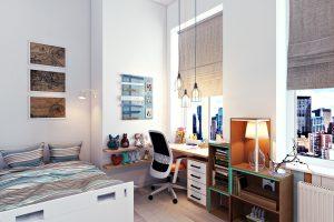 Дизайн детской комнаты вид 4