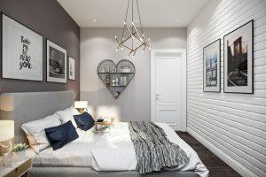 Спальня Bedroom (2) в стиле эклектика