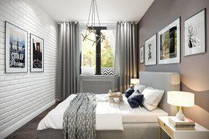 Спальня Bedroom (4) в стиле эклектика