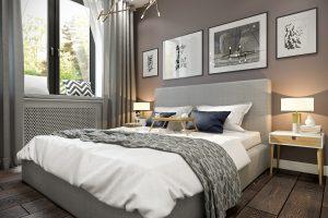 Спальня Bedroom (5) в стиле эклектика