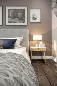 Спальня Bedroom (6) в стиле эклектика