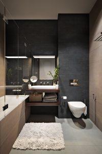 Ванная в современном стиле Bathroom View06