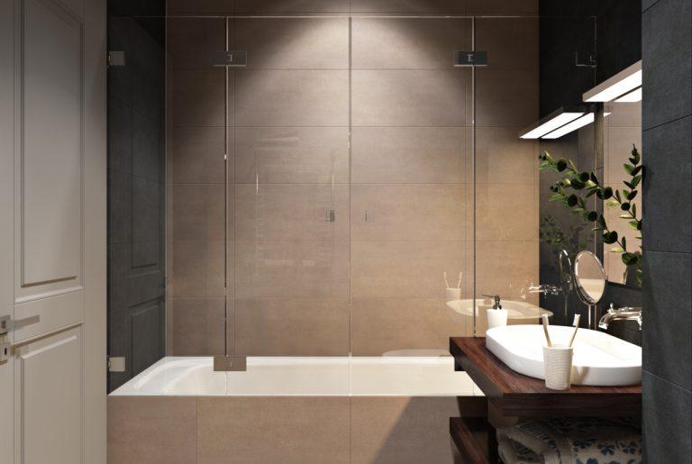 Ванная в современном стиле Bathroom View08