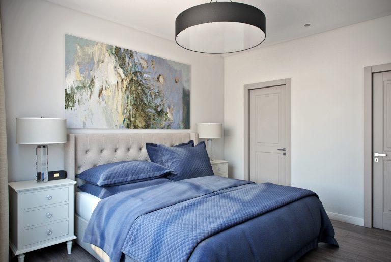Спальня в современном стиле Bedroom View08