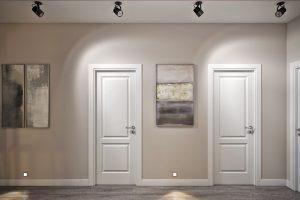 коридор в стиле эклектика